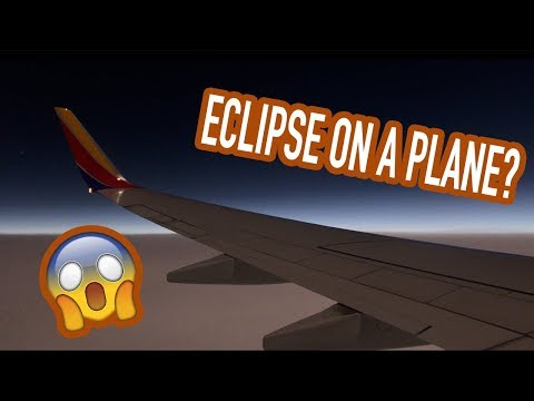 SOLAR ECLIPSE FROM A PLANE?