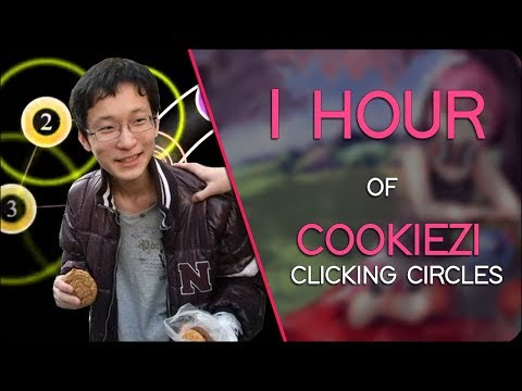 1 Hour of COOKIEZI clicking circles
