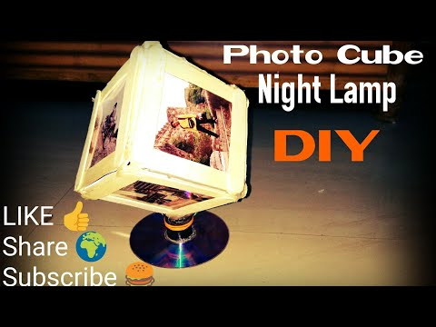 Photo Cube Diy- Night Lamp DIY By Manmohan Pal
