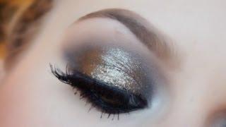 Vintage Black Gold ♡ Glistening Smokey Eyes!