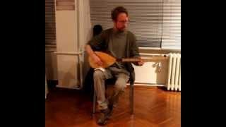 """2014 - 2015 U.S. Student Researcher Alexander Kreger Performs """"Şu Karşıki Dağda Kar Var Duman Yok"""""""