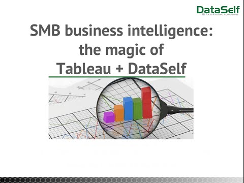 SMB Business Intelligence: The magic of Tableau and DataSelf