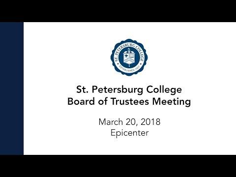 Board Of Trustees Meeting: 03-20-18