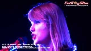 TAYLOR SWIFT - YOU BELONG WITH ME live in Jakarta, Indonesia 2014