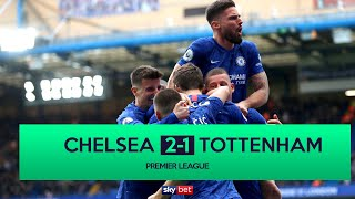 Gambar cover Chelsea 2-1 Tottenham | Lampard does the double over Mourinho