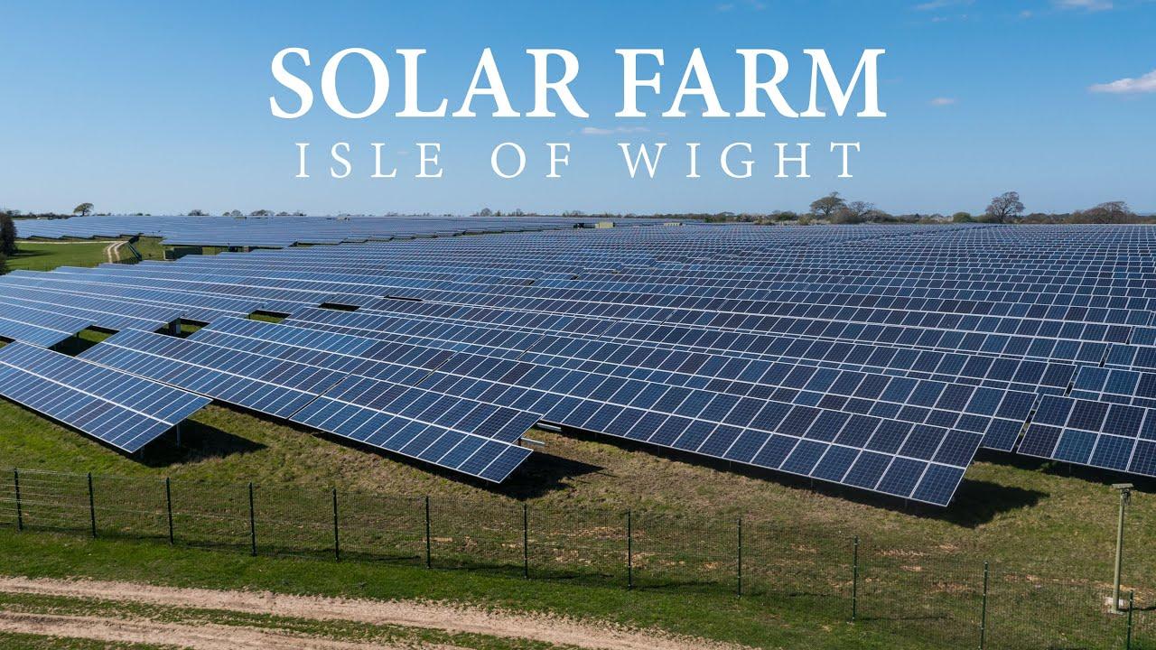 Isle Of Wight Solar Panel Farm Dji Phantom 3 4k