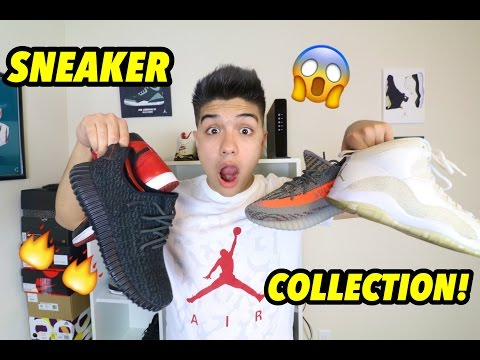 MY ENTIRE SNEAKER COLLECTION!!! (100,000 SUBS SPECIAL)