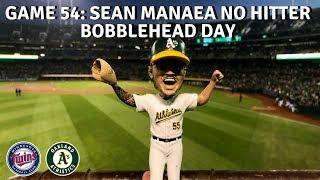 Sean Manaea No Hitter Bobblehead Day