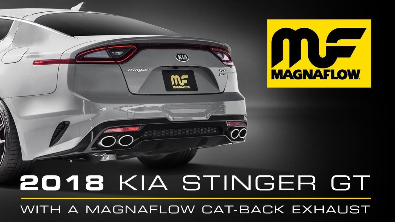 2018 Kia Stinger MagnaFlow Cat-Back Exhaust Sound Clip