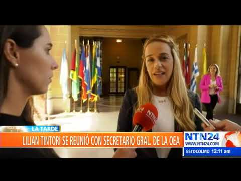 """""""Los mismos militares dicen que la orden de Maduro es matar a los venezolanos"""": Lilian Tintori"""