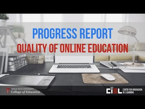 Quality of Online Education Support from CIEL