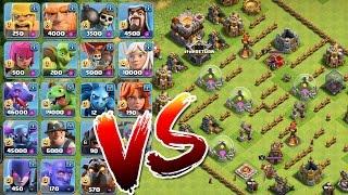 ALLE TRUPPEN vs. DAS LABYRINTH! || CLASH OF CLANS || Let