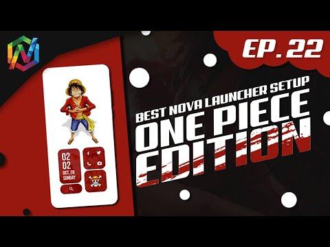 ONE PIECE EDITION |  Free For ALL | Best Nova Launcher Setup | Episode 22 | KWGT | TechWidNik