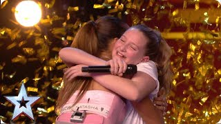 Ten-year-old Giorgia gets Alesha\'s GOLDEN BUZZER with MIND-BLOWING vocals! | Auditions | BGT 2019