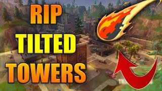 TILTED TOWERS GETTING NUKED SOON IN FORTNITE!!!
