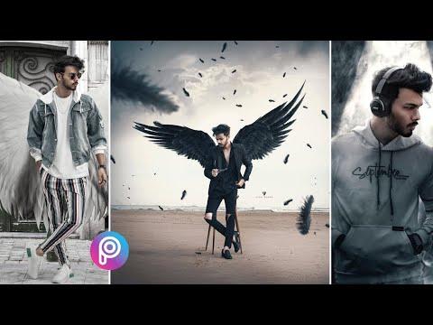 Vijay Mahar Photo Editing In Picsart 2020 || Vijay Mahar Eagle Wings Photo Concept Edit