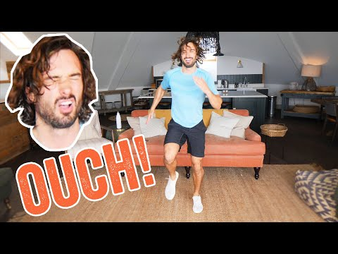 OUCH! 15 Minute Advanced HIIT Home Workout | The Body Coach TV