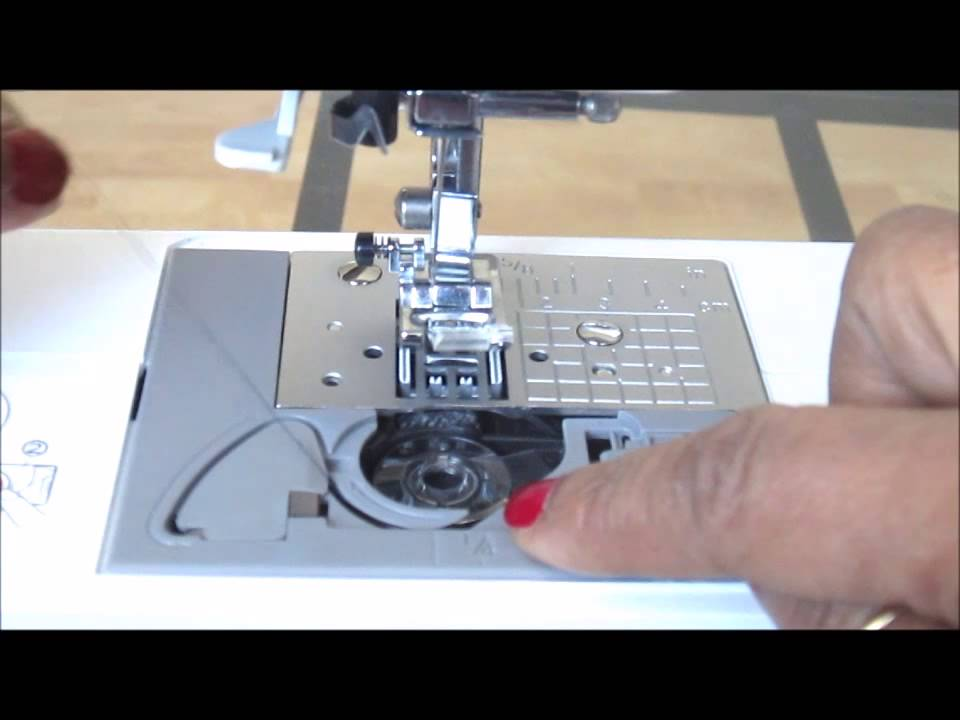Lower Threading Brother CS 40i YouTube Beauteous Brother Sewing Machine Cs 6000