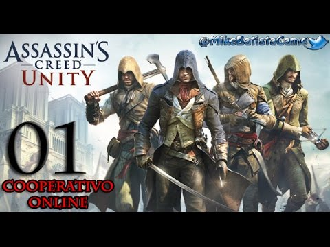 Assassins Creed Unity Cooperativo Online Ep. 01  (PC, 1080p + 60fps)