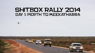 Shitbox Rally 2014 - Day 1 - Perth to Meekatharra