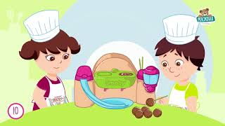 312103 Hravá kuchárka pre deti Chef Smoby