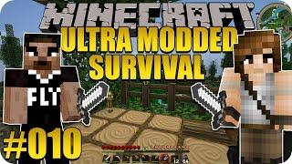 DER VERLORENE GRABSTEIN - Minecraft Ultra Modded Survival #010 feat. Daddelfly