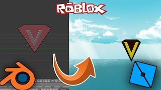 [ROBLOX STUDIO] LESSONS - LESSON 1 - (MAKING MESH - BLENDER) / MuammerVeysel