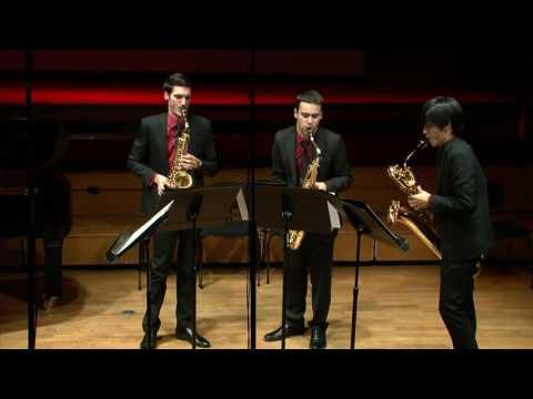 Jean Françaix : Petit Quatuor par le Quatuor Niobé