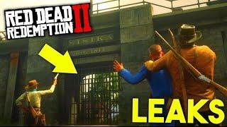 Brand NEUE LEAKS zu RED DEAD Online! | Red Dead Redemption 2 Multiplayer Info - Deutsch