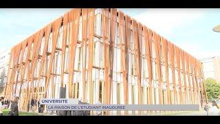 Université : la maison de l'étudiant inaugurée