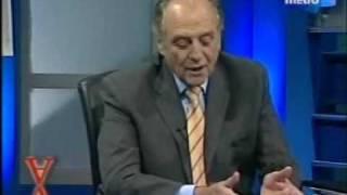 Repeat youtube video Carlos Heller en la Otra mirada- Canal Metro- 10.06.09 (parte 1)