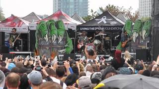 Pierce The Veil - Yeah Boy And Doll Face - 07/17/15 - Toronto Warped Tour (LIVE)