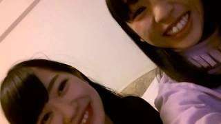 141230 NMB48 山尾梨奈 松岡知穂 山尾地方動画!