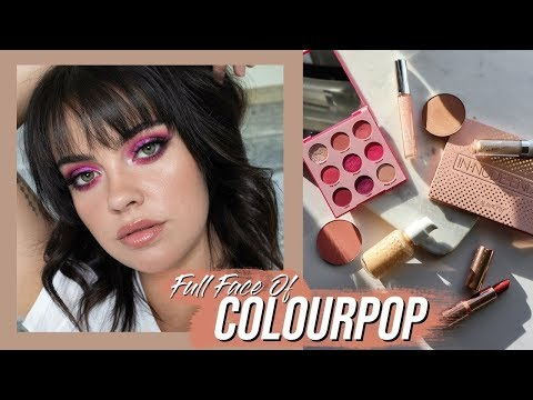 FULL FACE OF COLOURPOP   Julia Adams thumbnail