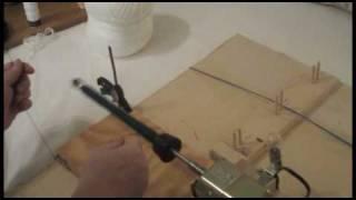 Homemade Electric Bobbin Winder