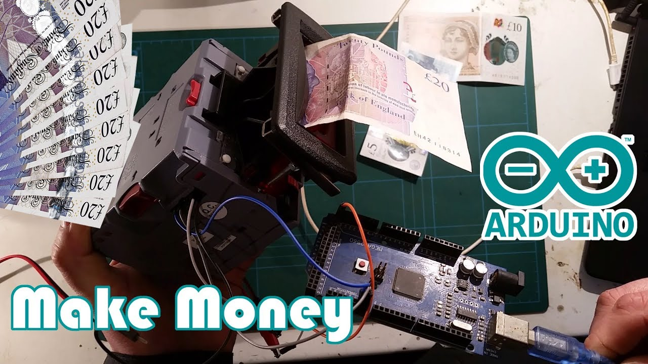NV10USB+ Note Acceptor with Arduino and Code