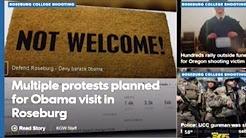Multiple Protests Planned For Obama's Roseburg Oregon Visit Today!