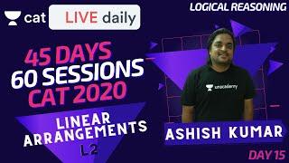 CAT 2020 | 60 Sessions Crash Course! | Circular Arrangements - L1 | By Ashish Sir