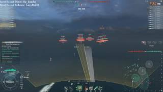 world of warships 0 5 16 1 z23 destroys shimakaze