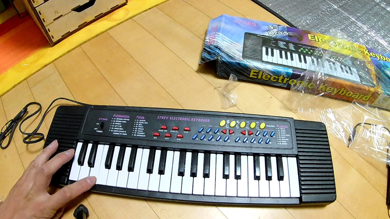Electronic Piano Vs A Keyboard : 37 key keyboard electronic digital piano for beginner toy gift with microphone youtube ~ Hamham.info Haus und Dekorationen