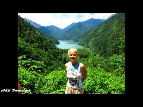 Абхазия : Гудаута, Гагра, Пицунда, Новый Афон.