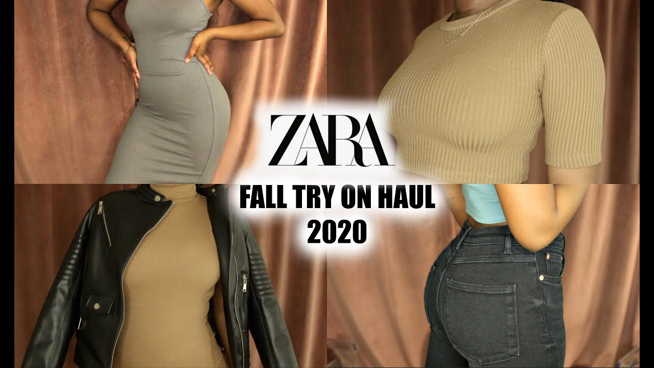 ZARA TRY ON FALL HAUL 2020