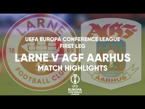 Larne Aarhus Goals And Highlights