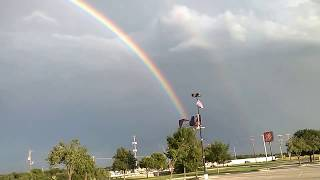 Double Rainbow sign of END OF DAYS