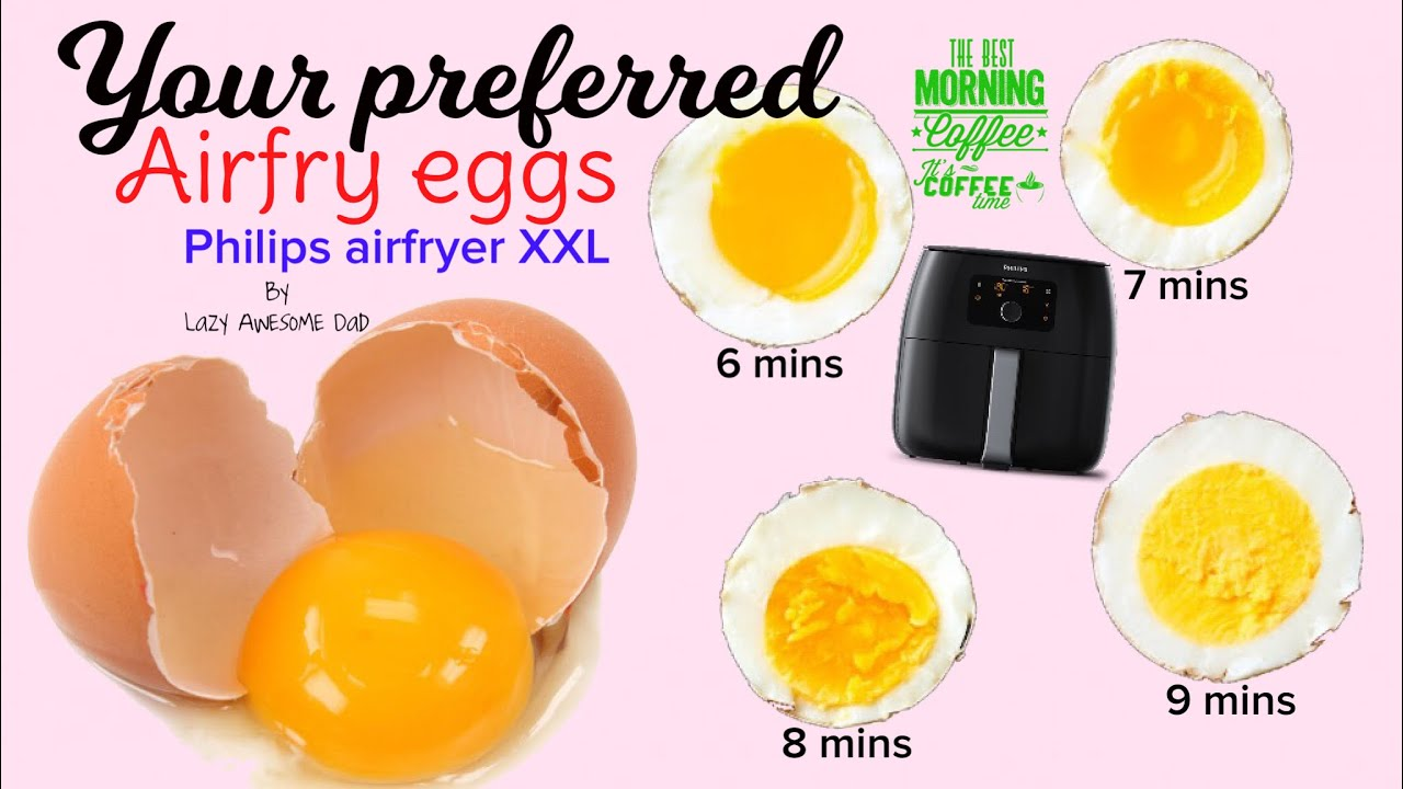 Your Perfect Airfry Egg In Philips Airfryer Xxl Avance How To