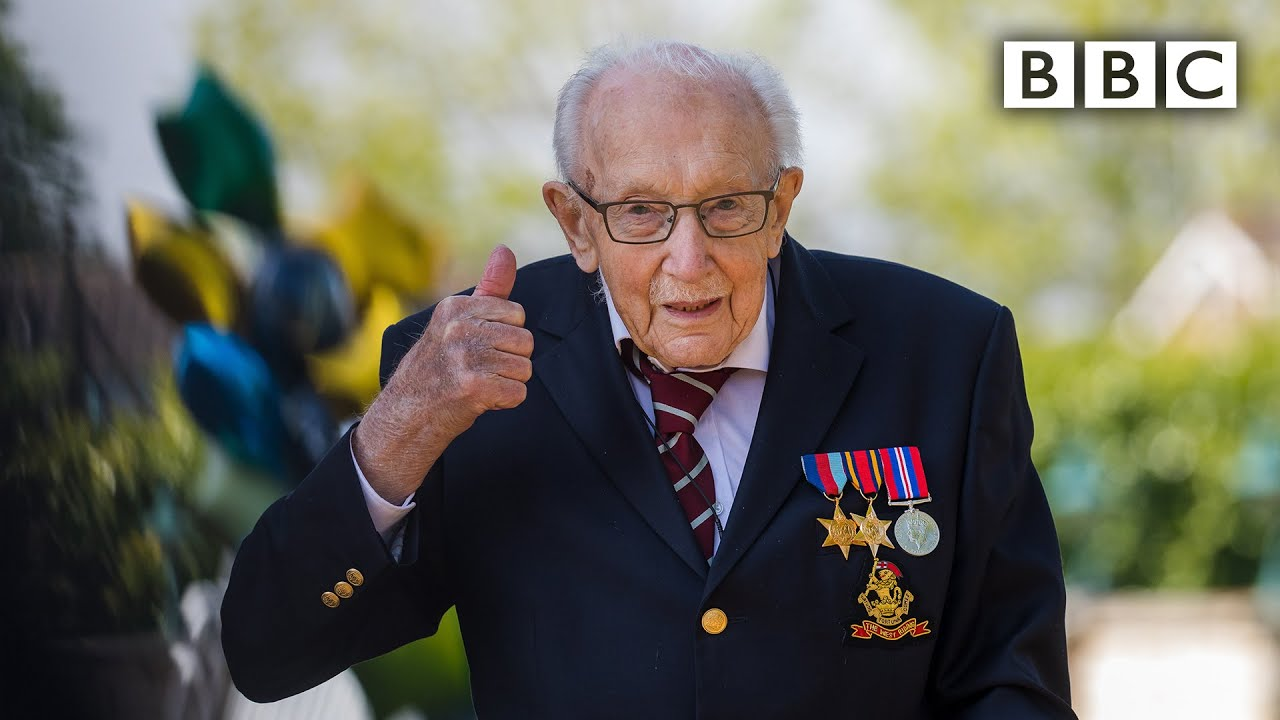 Could One 99 Year Old Raise £100 million for NHS?