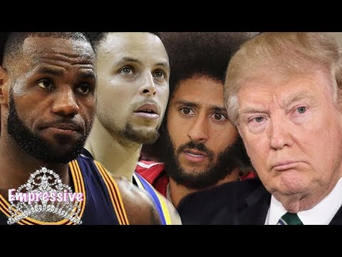 Download Youtube: Lebron James drags Donald Trump for dissing Steph Curry and Colin Kaepernick