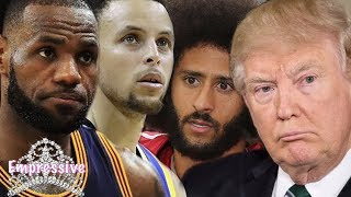 Lebron James drags Donald Trump for dissing Steph Curry and Colin Kaepernick