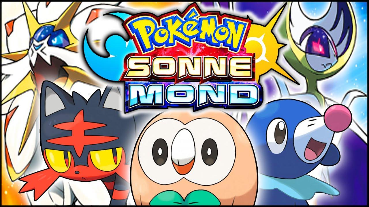 Pokemon Sonne Starter