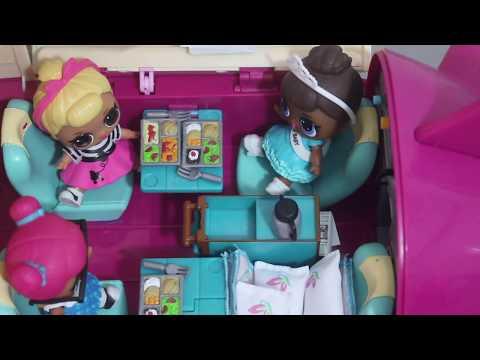 LOL Sürpriz Bebekler Tatile Gidiyorlar. LOL Bebek İzle. #LOLBebekGüncesi 1. Bölüm #çocuklariçin